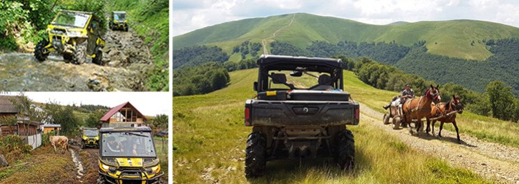 New & amazing with TRAXTER CAN AM<br /> UTV-BUGGY TOUR-OFF ROAD Ukraine